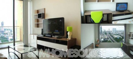 Affordable 1BR Sathorn Condo near Krung Thon Buri BTS