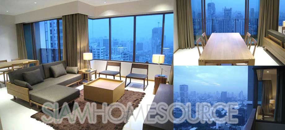 Classy High Floor 2BR Phrom Phong Condo with Amazing View