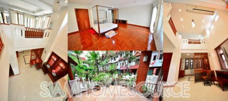 Spacious Resort-Style Phrom Phong Townhouse Rental