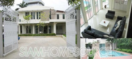 Spacious & Luxurious 4BR Phrom Phong Detached House with Private Pool