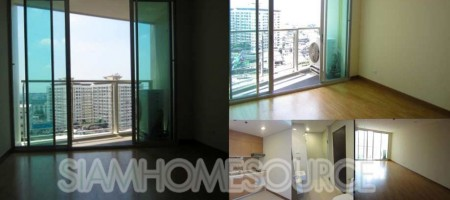 Brand New Unfurnished 1BR in Le Luk Condominium