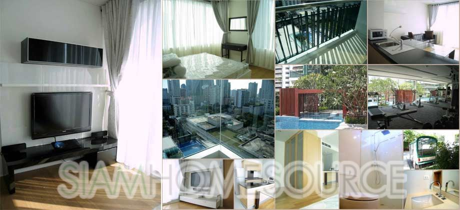 Affordable Asoke Condo – 1BR Corner Unit with View