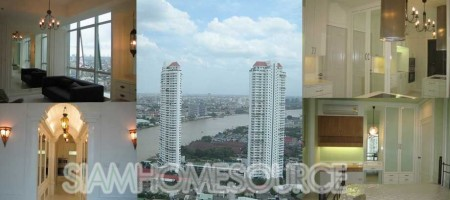Affordable 2BR Condo with Breathtaking Chao Phraya River View