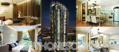 Brand New Luxury 1BR Condo – The Address Asoke