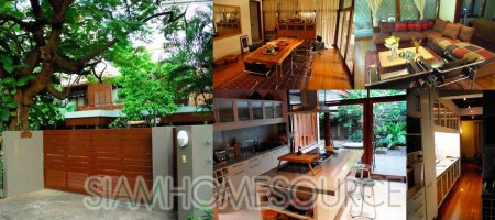 Amazing Renovated 3BR Detached House in Ekkamai for Sale With Tenant