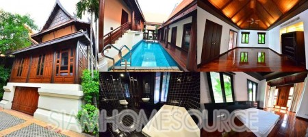 Breathtaking 4BR Thai Style House – Private Pool – Impeccably Maintained