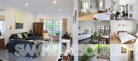 Bright & Clean 3BR Phrom Phong-Thonglor Townhouse