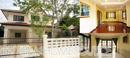 Bangkok House in Ramintra Moo Baan for Sale