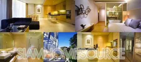 Sala Daeng Residences – 2BR Corner Unit – High End Luxury Condominium