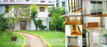 Rare Affordable Bangkok House Property Rental Opportunity off Ratchadamri Road