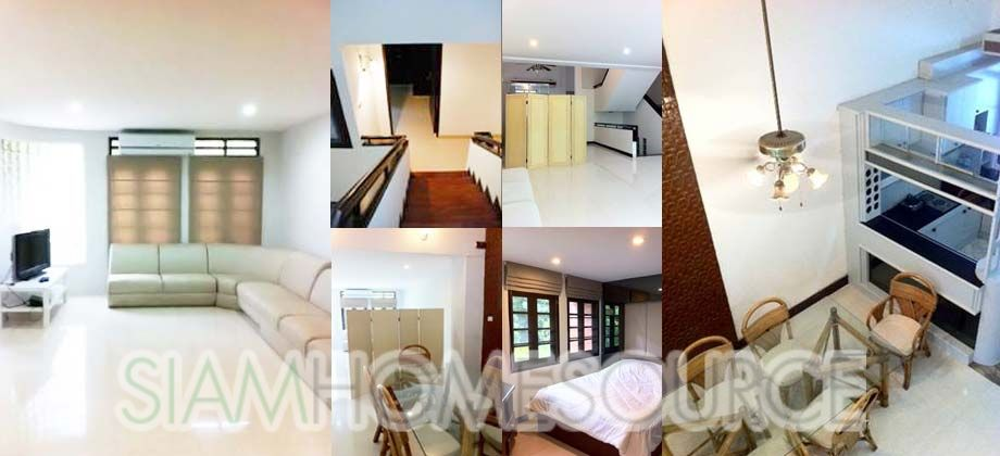 Fully Furnished 3BR English Style Townhouse in Thonglor