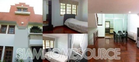 Affordable, Spacious 3BR Fully Furnished Thonglor Townhouse