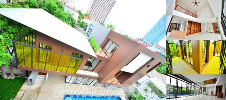 Brand New – Ultra Modern House in Phrom Phong-Thonglor