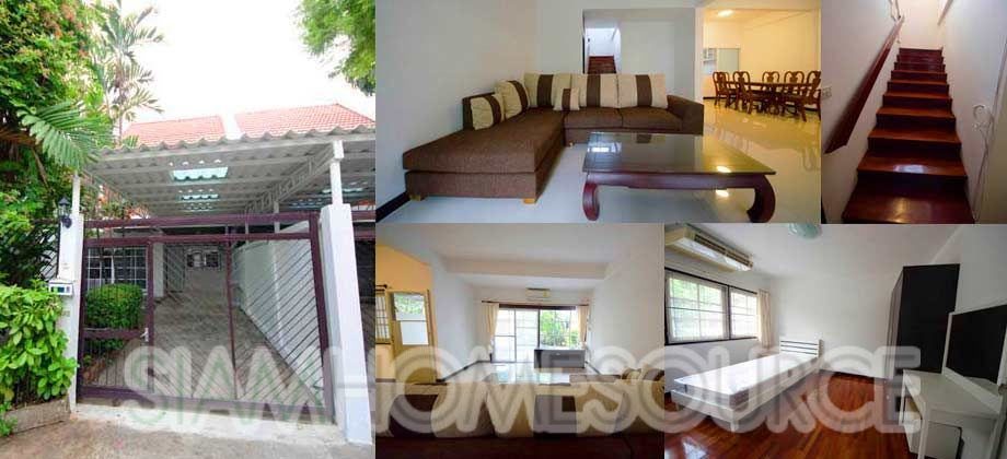 Fully Furnished 3BR Nana Townhouse – Quiet Lower Sukhumvit Home