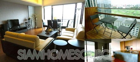 2BR Ratchadamri Road Condo – Royal Bangkok Sports Club View