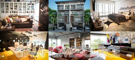 4BR Sansiri Townhouse for Home Office in Ramkhamhaeng