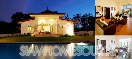 Affordable Luxury Villas in Hua Hin (Private or Shared Pool) near Golf