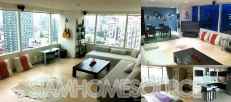 Beautiful 2BR Corner Unit on High Floor of 8 Thonglor