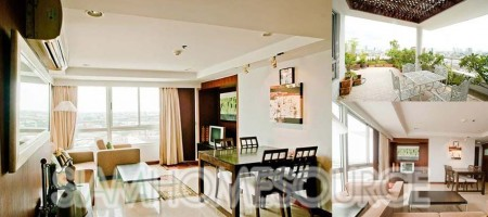 Sensational 2BR Sathorn Condo w/ Extra Large Terrace