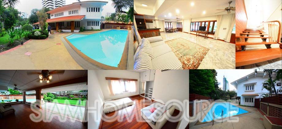 Spacious 5BR Phrom Phong House w/ Private Pool