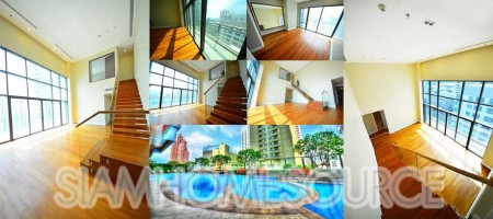 Brand New, Voluminous Loft Style 2BR Duplex at Bright Sukhumvit 24