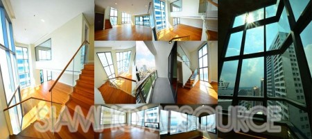 Breathtaking 3BR Bright Sukhumvit 24 Duplex Corner Unit