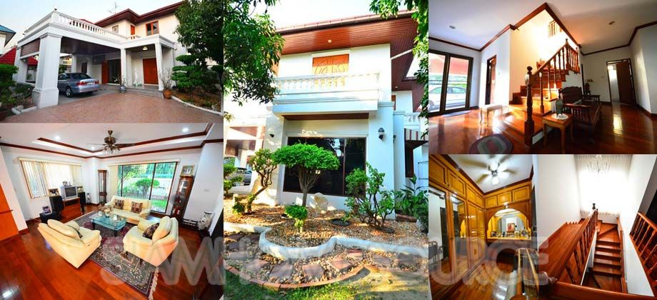 Beautiful 4BR Ladprao Family House – Gorgeous Garden