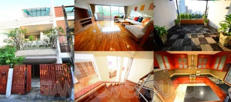 Beautiful, Well Located 4BR 4-Story Phrom Phong Townhouse