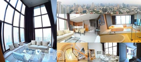 Superbly Amazing, High Floor 2BR/3BA Phrom Phong Duplex