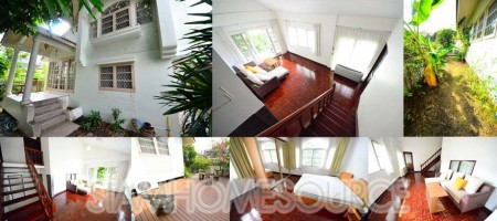 Affordable 3+1 BR House in Thonglor w/ Garden & Deck