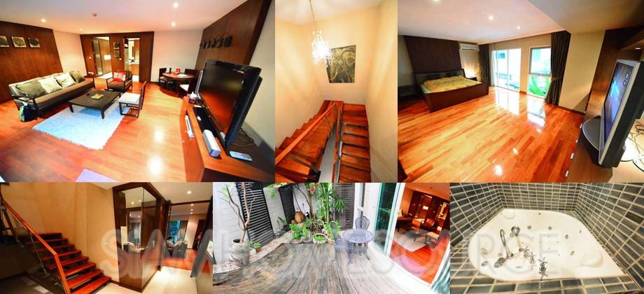 Beautiful 1+1 Duplex Home Office Executive Condo in Nana-Asoke