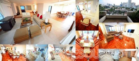 Spacious 360sqm 3+1BR Phrom Phong Family Apartment