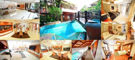 Luxurious & Super Spacious Phrom Phong Thai Style Villa