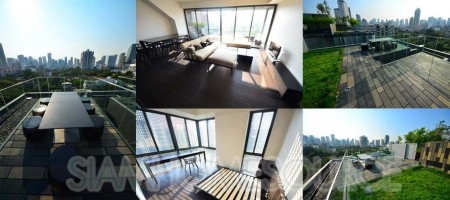 New 3BR Phrom Phong Penthouse w/ Private Rooftop Garden
