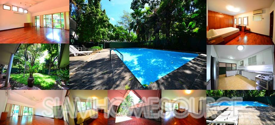 Well-Located, 3BR Phrom Phong House w/ Private Pool