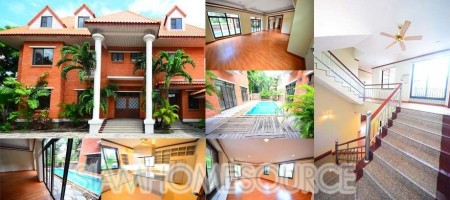 Super Spacious Private Pool Villa in Thonglor
