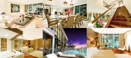 Lavish 3BR Phrom Phong Duplex w/ Private Pool