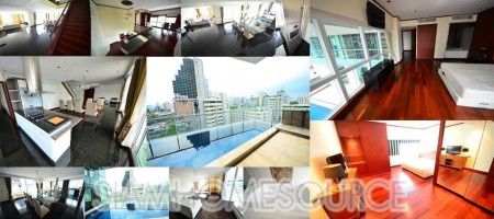 Spacious Phrom Phong Duplex with Private Swimming Pool