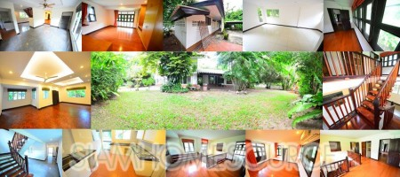 Peaceful 3BR Asoke House on Spacious 1 Rai Land Plot