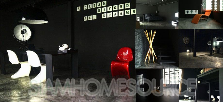 1-of-a-Kind 2BR Phrom Phong Duplex- Industrial Style Loft