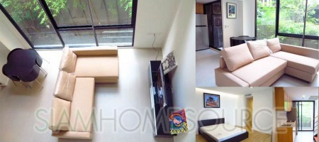 Affordable 1BR Phloenchit Greenery View Duplex