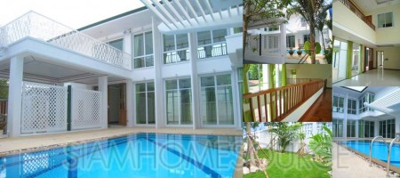 Luminous Pool Villa w/ Pleasant Garden in Phrom Phong