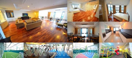 Spacious, Well Located 3+1BR Thonglor Apartment