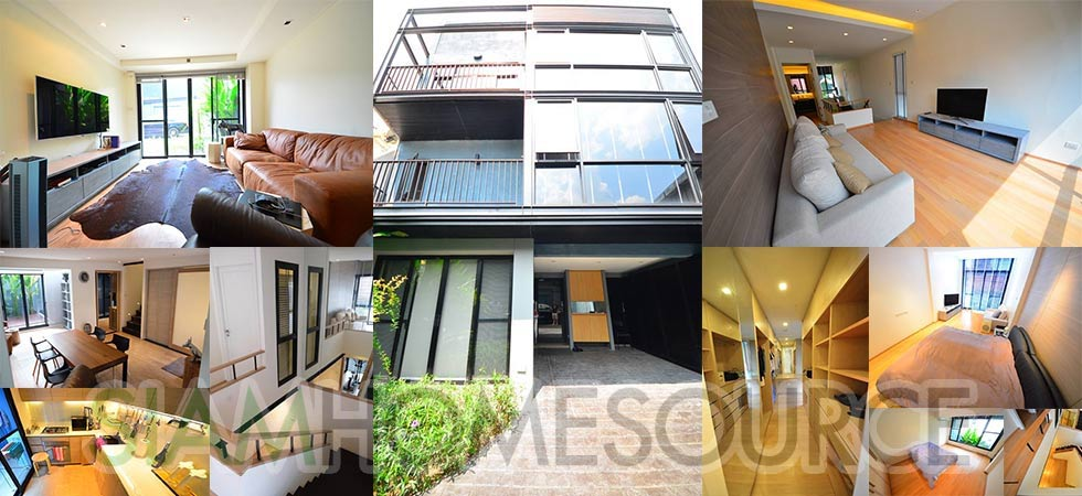 Modern, Superbly Done 3BR Phrom Phong Townhouse