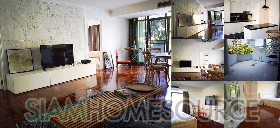 Spacious, Stylishly Renovated 2BR Thonglor Condo