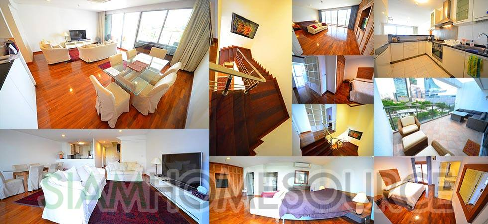 Ultra Rare 2BR Chidlom Duplex with Embassy View