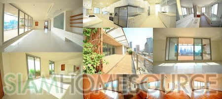 Bright, Lovely & Luxurious 3BR Silom-Sathorn Penthouse