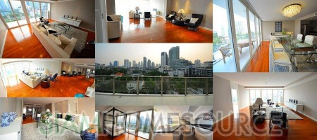 Bright Thonglor Penthouse in New, Modern Lowrise Condo