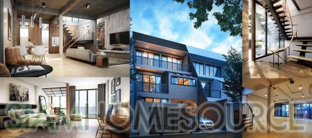 Brilliant! Brand New 3BR Ekamai Townhome