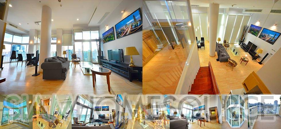 Bright & Airy 3BR Thonglor Penthouse Duplex w/ Incredible Potential